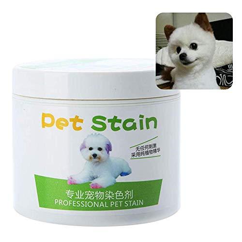 SUPERLOVE Perro de Tinte para Cabello de Mascotas para 9 Colores, quitamanchas...