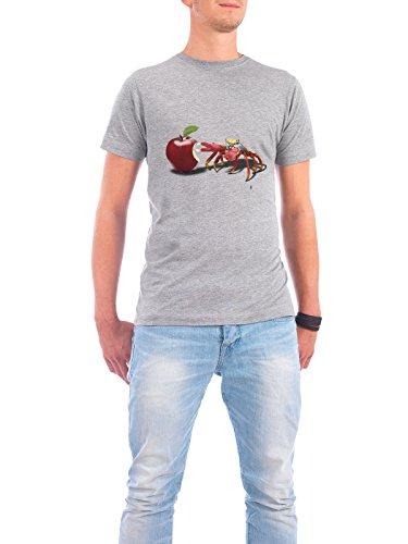 """Design T-Shirt Männer Continental Cotton """"Core (wordless)"""" - stylisches Shirt Tiere Natur Essen & Trinken von Rob Snow Grau"""