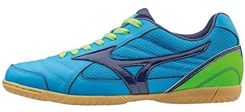 Mizuno Sala Club In, Chaussures de Football Homme Diva Blue/Blue Depths