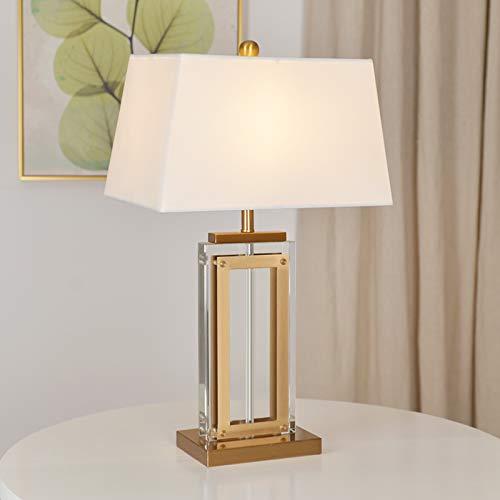 Pumpink Lámpara contemporánea de Mesa de Metal Dorado Perlas de ...
