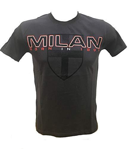 T Shirt Uomo Manica Corta A.C. Milan Calcio Maglietta Milanista PS 30251
