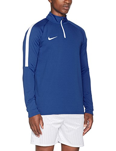 Top Nike uomo manica lunga Dry Drell acdmy. Game Royal / White