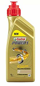 Castrol 154F7C Power 1 2T Engine Oil, 1 Liter