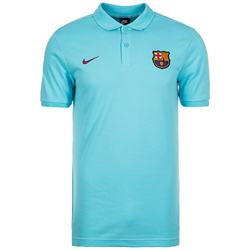 Official 2017 2018 FC Barcelona Core Polo Shirt manufactured by Nike. This blue Barcelona football polo shirt is available to buy in adult sizes S, M, L, XL, XXL and is part of the mens FCB 2017 2018 training range.Product Code 886781-485