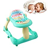 WDXIN Baby Lauflernwagen Multifunktional Verteidigung Rollover Baby Mädchen Kleines Kind Trolley...