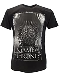 T-Shirt Camiseta TRONO DE HIERRO Serie de Televisión JUEGO DE TRONOS Game Of Thrones