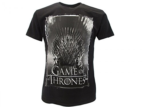 T-Shirt IRON THRONE from TV Serie GAME OF THRONES - 100% Official HBO