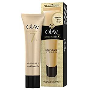 Olay Total Effects 7-in-1 Anti-Ageing Blemish Care Moisturiser 50 ml (Packaging Varies)