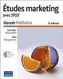 Image de Études marketing avec SPSS® + logiciel SPSS version étudiante