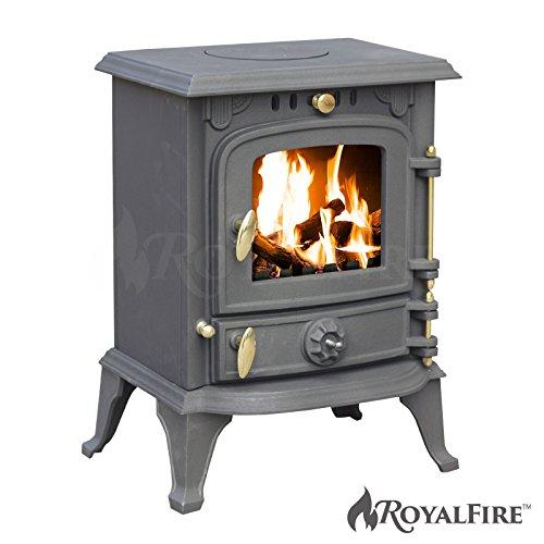 Royal FireTM Poêle en fonte pour poêle à bois et charbo