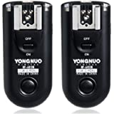 YONGNUO RF-603N disparador de flash inalámbrico Sync disparador receptor de control remoto para Nikon D90/D5000/D3100/D7000 (Negro)