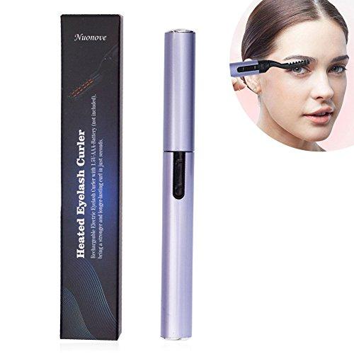 Wimpernzange Eyelash Curler, Augen Wimpernzange, Portable Elektrische Beheizte Wimpernzange für Geschwungene Wimpern Schmerzfreie Geschwungene Schönheit Make Up Tool