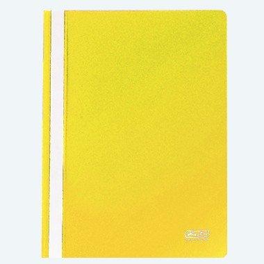 Herlitz 975417 Schnellhefter DIN A4 in gelb