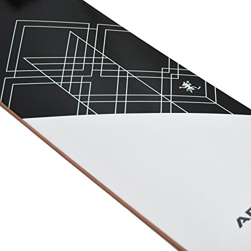 Apollo Longboard Samoa Special Edition Komplettboard mit High Speed ABEC Kugellagern inkl. Skate T-Tool, Drop Through Freeride Skaten Cruiser Boards -