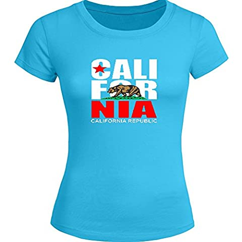 Popular California For Ladies Womens T-shirt Tee Outlet