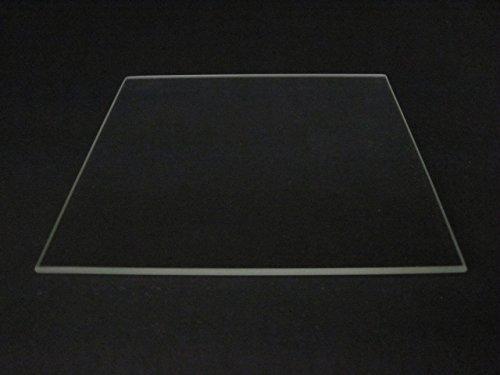 220mm x 220mm Borosil Glas Teller/Bett W/flach poliert Rand für MK2MK3Beheizbares Bett 3D Drucker