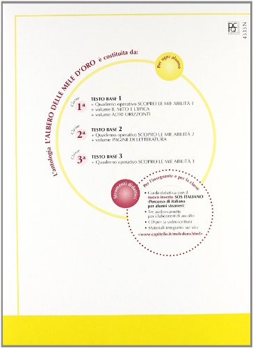 L'albero delle mele d'oro. Testo base-Pagine di letteratura. Con quaderno. Per la Scuola media: 2