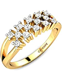 Candere by Kalyan Jewellers 18k (750) Yellow Gold Ring for Women