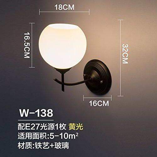I Dimmer Lampade da parete camera da letto studio lampada