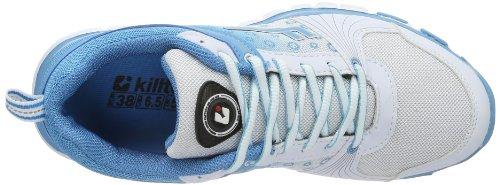 Killtec Galaxis 24404-820, Chaussures de running femme Bleu - Blue - Blau (ocean/weiß / 00820)
