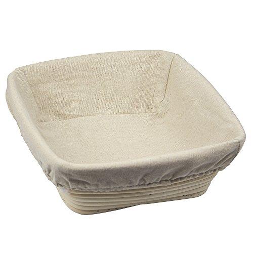 hasta 1 kg, 30 x 14,5 x 8 cm Cesto rectangular para fermentar masas Masterproofing