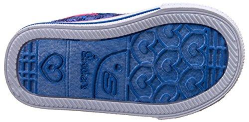 Skechers ShufflesSweet Steps, Chaussons Sneaker Fille Bleu (Bleu Roi)