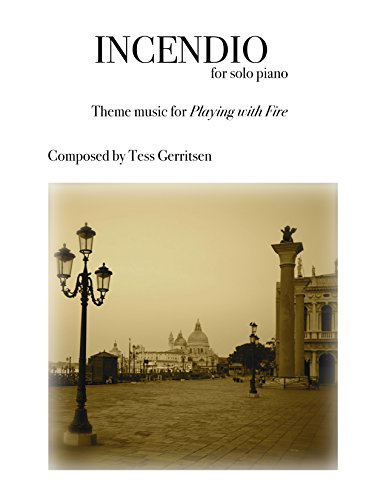 Incendio: sheet music for solo piano (English Edition)
