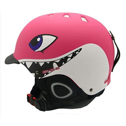 WEGCJU Kinder Ski Helme Snowboard Helm Skateboard Roller-Skating Maske Moto Bike Klettern Radfahren...