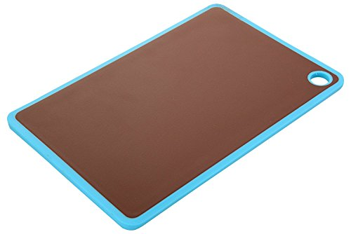 Vivir® Chopping Board Cutting Board Large ( With Drip Groove, Finger Hole And Silicon Border 38 x 24 x 0.8 cm)  available at amazon for Rs.499