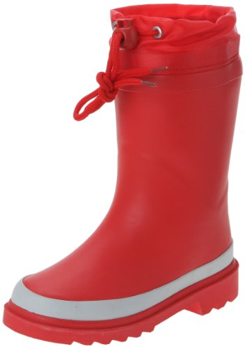 BE ONLY BOTTE COLOR HIVER ROUGE, Stivali unisex bambino, Rojo (Rot/Red), 34