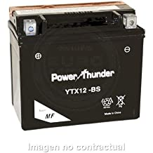 Power Thunder - Batería YTX12-BS [0612971P]