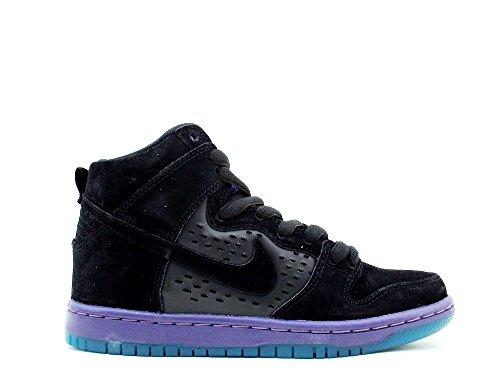 NIKE SB Shoes DUNK HIGH SEND HELP Black/Black Grape-Ice