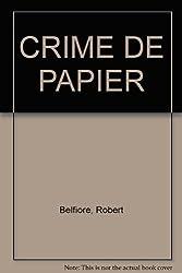 CRIME DE PAPIER