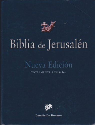 Biblia De Jerusalen 4ª Ed.Manu 1 (Biblia de Jerusalén) por Escuela Biblica De Jerusalen