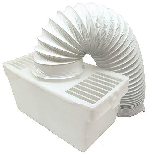 FindASpare Ersatz-Kondensator-Kit für den Innenbereich mit Schlauch für Beko & Amica Wäschetrockner -