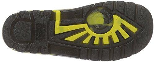 Lurchi Unisex-Kinder Platschi Gummistiefel Mehrfarbig (black yellow 31)