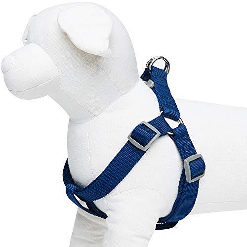 Umi. Essential Classic - Arnés para perros M, contorno del pecho 51-66 cm, arneses ajustables para perros (azul marino)