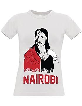 Bughyprint T-Shirt La Casa di Carta Papel Nairobi