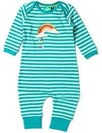 fe40ac6d8c6918 Little Green Radicals Baby Mädchen (0-24 Monate) Schlafstrampler Blau türkis