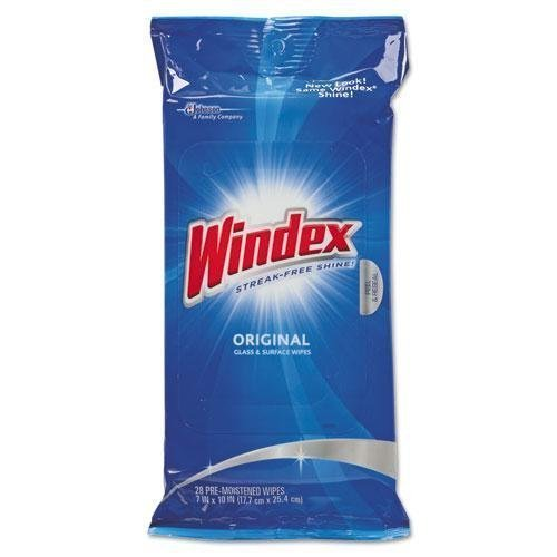 windex-cb702325-glass-surface-wet-wipe-cloth-7-x-10-28-pack-by-windex