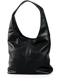 Gabarra , Sac pour femme à porter à l'épaule Noir Noir 37x30x13 cm