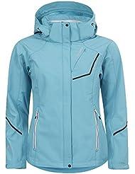 Icepeak Satu - Chaqueta para mujer (tejido softshell), mujer, color azul claro, tamaño 46 [DE 44]