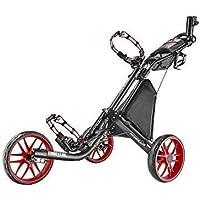 caddytek EZ V2 3-rad Trolley Trolley Carrito Carro De Golf Trolley de empuje 3wheel