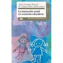 La interacción social en contextos educativos (Psicología)