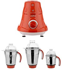 Moksh 500-Watt Spider Juicer Mixer Grinder (Red)