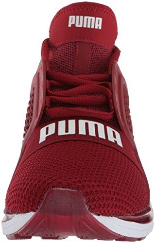 Dahlia Gli Rosso Accendono Uomini Puma Corazzati Non Scarpe Puma Bianco gaRqxYw