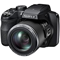 Fujifilm FinePix S9200 Camera - Black (16.2MP, 50x Optical Zoom, CMOS Sensor)