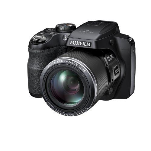 Fujifilm FinePix S9200 Fotocamera Digitale, 16 Megapixel, Stabilizzatore Ottico OIS, Zoom 50x, Nero