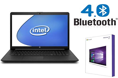Notebook HP 17-by - 8GB RAM - 2000GB SSD - CD/DVD Brenner - 44 cm (17.3 Zoll) Matt - Windows 10 Pro 64BIT