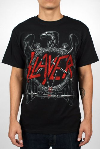 Slayer - Black Eagle Herren-T-Shirt in Schwarz, XX-Large, Black (Slayer Eagle)